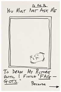 self-portrait by larry kramer