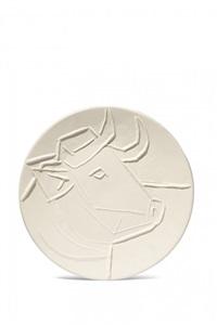 tête de taureau by pablo picasso