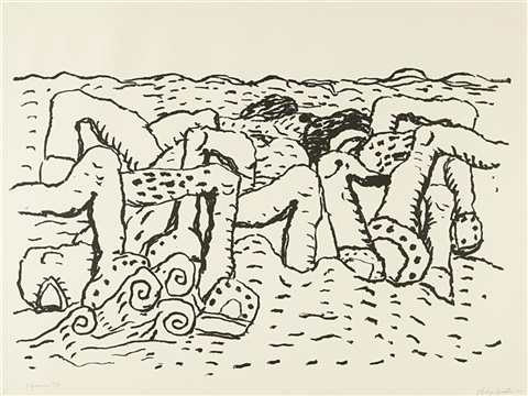 agean by philip guston
