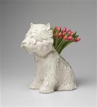 puppy vase by jeff koons