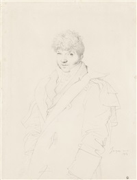portrait of a gentleman by jean-auguste-dominique ingres