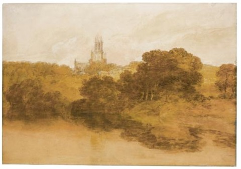 fonthill abbey wiltshire by joseph mallord william turner