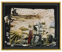 crab diary page, november 1984 by peter beard