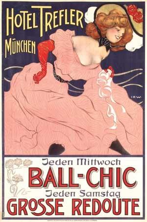 hotel treffler münchen ball chic by joseph rudolf witzel