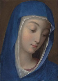 the blessed virgin by scipione pulzone