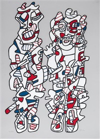 delegation by jean dubuffet