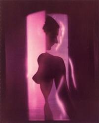 purple nude, new york by erwin blumenfeld