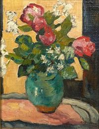 bouquet de camelias by louis valtat