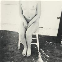 untitled (self-portrait, providence, rhode island) by francesca woodman