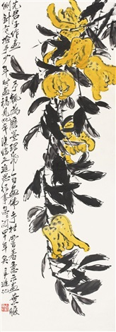 佛手 by qi liangchi