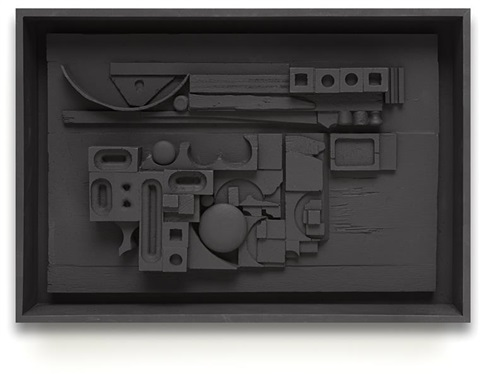 sun set by louise nevelson