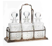 decanter set (set of 4) by c.j. vander ltd
