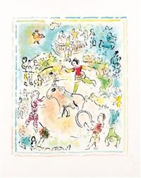 burlesque au cirque by marc chagall