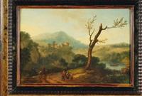 la conversation au bord de la rivière by mathys schoevaerdts