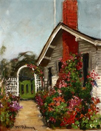 the artist's home, pacific grove by william adam