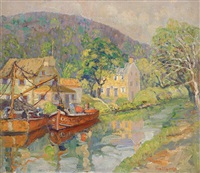 coaling on the old canal by fern isabel coppedge