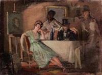 nello studio del pittore by dario cecchi