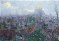 the sacré coeur from montmartre by rudolf quittner