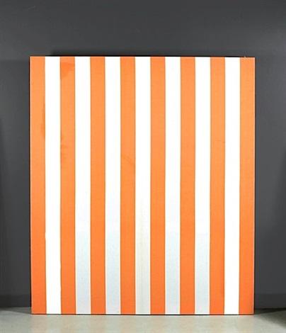 blanche et orange décembre by daniel buren