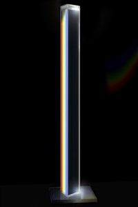 untitled (prism column) by charles ross