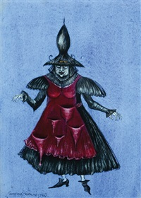 witch by leonora carrington