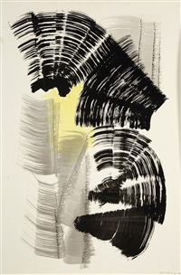p 1967-128 by hans hartung
