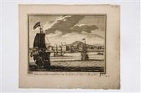 s. francisco de campefche and st. francous de campeche (2 works) by pieter (petrus) schenk