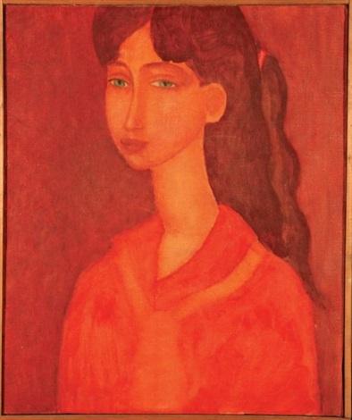 portret dziewczyny by roman zakrzewski
