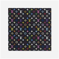 monogram multicolore - black by louis vuitton and takashi murakami