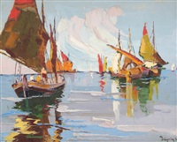 boats by rudolph negely