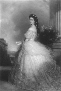 kaiserin elisabeth von österreich by louis jacoby
