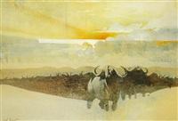 cape buffalo by keith joubert
