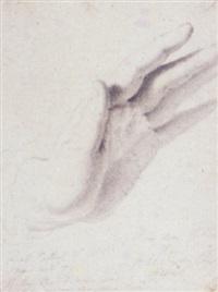 study of wilkie's hand by benjamin robert haydon