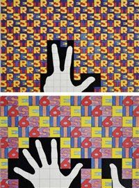 da 1 a 10 (portfolio of 20) by alighiero boetti