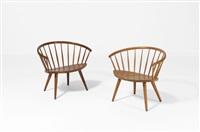 arka paire de fauteuils by yngve ekstrom