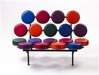 marshmallow sofa by george nelson