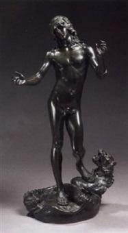 orpheus and cerberus by edme antony paul noël