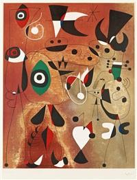 femmes oiseaux étoile by joan miró