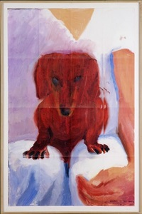 portrait of stanley (16 works) by david hockney