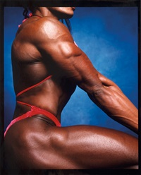 lesa lewis (from big women series) by andres serrano