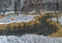 meandres de la riviere by vladimir bobrov