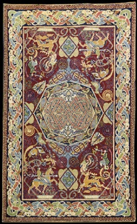 hunting rug by george bain