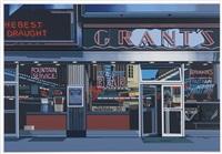 urban landscapes (portfolio of 8) by richard estes