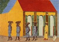 prisonniers revenant dans les bois by philomé obin