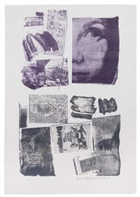 pledge by robert rauschenberg