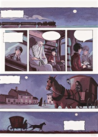 planche originale n°7 (for le secret des lutins) by tatiana domas