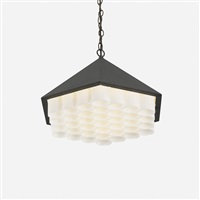 beehive pendant lamp, model ns801 by george nelson & associates