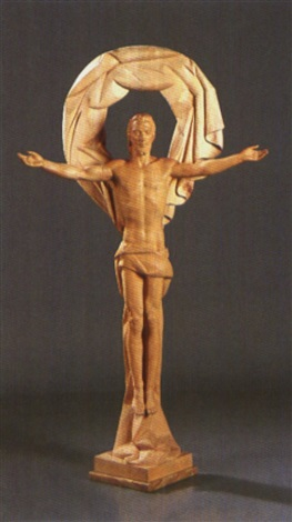 cristo redentor de mondragon by juan de avalos
