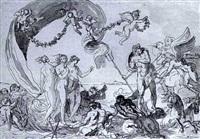 neptune et trois graces by guillaume boichot