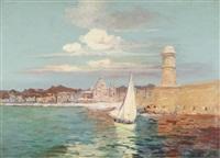 le port de marseille by francois maurice reynaud